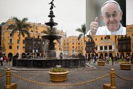 Lima celebra sus 483 años de fundación con la visita del Papa