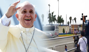 Grupo Aéreo N°8: papa Francisco llegará media hora antes a Lima
