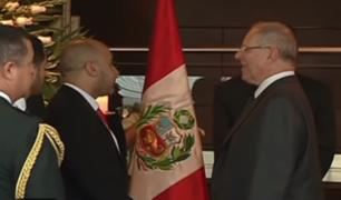 Presidente Kuczynski rindió homenaje al compositor Augusto Polo Campos