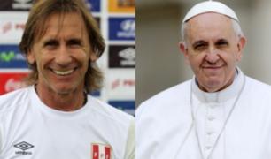 Entrenador de la 'Rojiblanca' Ricardo Gareca se encontrará con el Papa Francisco