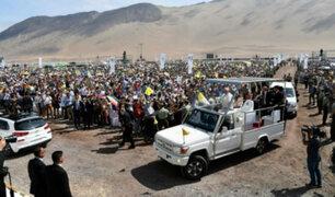 Papa Francisco: así fue la última etapa de su visita a Chile