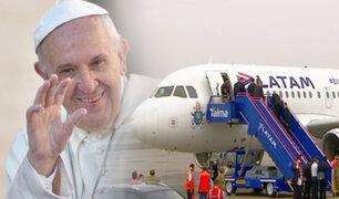 Papa Francisco viaja rumbo a Puerto Maldonado