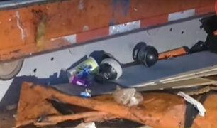 Surco: hallan granadas cerca de Base Aérea Las Palmas