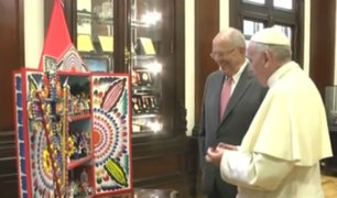 Francisco en Perú: ¿Qué le regaló el presidente al Sumo Pontífice en Palacio de Gobierno?
