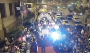 Surco: imagen del Señor de los Milagros ya se encuentra en Las Palmas