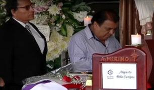 Artistas y personalidades rinden homenaje a compositor Augusto Polo Campos