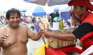 Negocios redondos y emprendimientos de verano en la playa Agua Dulce