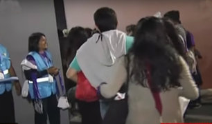 Base 'Las Palmas': fieles hacen colas desde temprano para misa del Papa