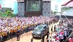 Al Sexto Día: Papa lleva mensaje de esperanza a Puerto Maldonado