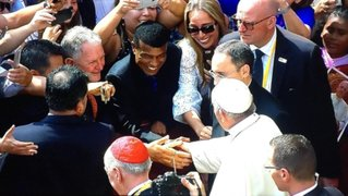 """Teófilo """"El Nene"""" Cubillas recibió la bendición del papa Francisco"""