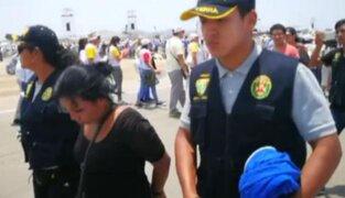 Francisco en Perú: ladrona de celulares fue detenida en Las Palmas