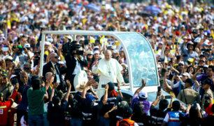 """Papa Francisco al Perú: """"Me ha hecho bien encontrarme con ustedes"""""""
