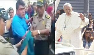 Avenida Tacna: detienen a ladrón que robaba a feligreses durante visita del papa Francisco