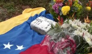 Venezuela: Oscar Pérez fue enterrado en Caracas sin autorización de su familia