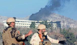 Afganistán: al menos 30 muertos dejó ataque a hotel en Kabul
