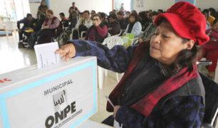 Nueva ley para las elecciones municipales dejaría fuera de carrera a postulantes