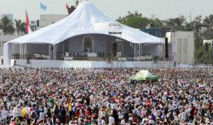 Papa Francisco: más de un millón de fieles participaron de la última misa en Las Palmas