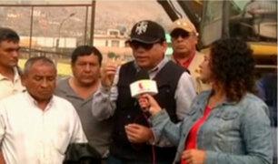 """Luis Bueno: """"No recibimos apoyo de Pablo de la Flor"""""""