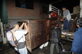 Chosica: evacúan familias ante incremento del caudal del río Rímac