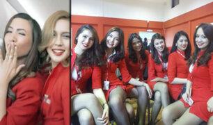 "Malasia: acusan a aerolínea de vestir a sus azafatas de con prendas ""extremadamente cortas"""