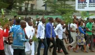 Las impactantes imágenes de las protestas en el Congo que dejaron al menos cinco muertos