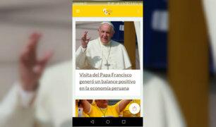El papa en Perú: Aplicación de Panamericana Televisión marcó un precedente en visita del Sumo Pontífice