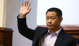 "Víctor Ponce sobre facción de Kenji Fujimori: ""No lograrán formar partido político"""