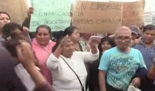 Chosica: vecinos  de Carapongo advierten que radicalizarán sus medidas de protesta