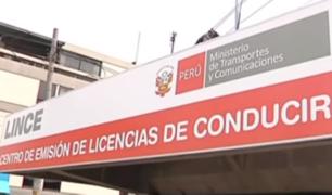 Habilitan citas web para tramitar licencias de conducir