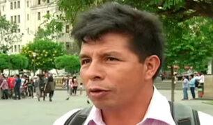 Sutep se pronuncia por anuncio de huelga de maestros convocada por Pedro Castillo