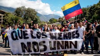 Venezuela: protesta por asesinato de Óscar Pérez deja decenas de heridos