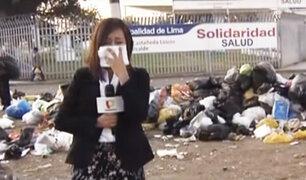 VMT: a pesar de la Alerta Sanitaria, el problema de la acumulación de basura continúa