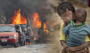 """Afganistán: terroristas suicidas atacan sede de """"Save the Children"""" en Jalalabad"""