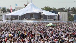 Francisco en Perú: así funcionó el sistema de entrega de entradas para la misa papal