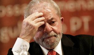 Justicia brasileña ratifica condena contra Lula da Silva por corrupción