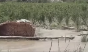 Cañete: desborde de río Mala afecta varias áreas de cultivo