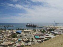 Piura: buque liberiano choca contra embarcación pesquera