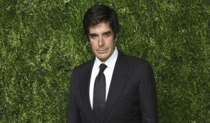 Acusan a David Copperfield de agredir sexualmente a una modelo