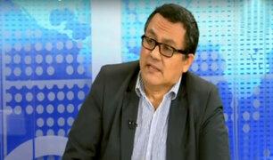 """Víctor Ponce sobre indulto a Fujimori: """"No se puede cuestionar decisión presidencial"""""""