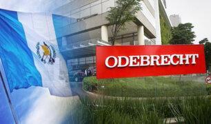 Odebrecht restituirá a Guatemala US$ 18 millones pagados en sobornos
