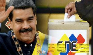 Venezuela: elecciones parlamentarias no se harán en la misma fecha que presidenciales