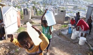 Haití: la gran mayoría de su población está sin acceso al agua después del terremoto del 2010
