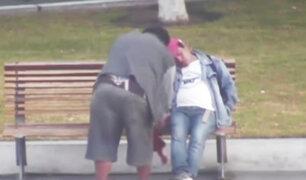 Chimbote: falso taxista intenta robarle celular a hombre ebrio que dormía