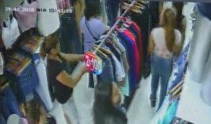 Millet Figueroa: 'tenderas' roban mil 800 soles en mercadería de su tienda