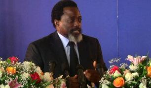 Presidente Joseph Kabila dio primera conferencia en seis años tras violentas protestas en el Congo
