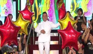 Andrés Hurtado celebró a lo grande su cumpleaños en Porque Hoy es Sábado