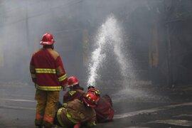 Incendio en Ancón: trasladan a comisaría a chofer de tráiler