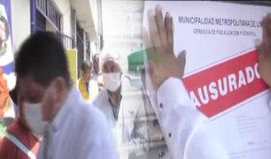 Cercado de Lima: clausuran cevicherías por preparar alimentos en pésimas condiciones de higiene