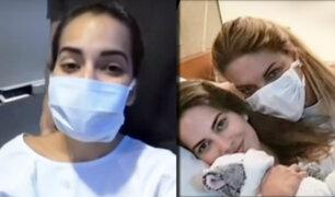 Valeria Piaza se pronuncia tras 20 días de internamiento en clínica