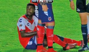 Christian Ramos se lesionó en su debut con el Veracruz de México